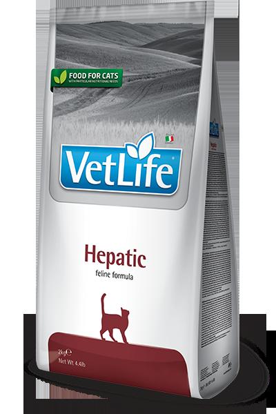 Vet Life Hepatic, для поддержки работы печени, уп.2 кг.