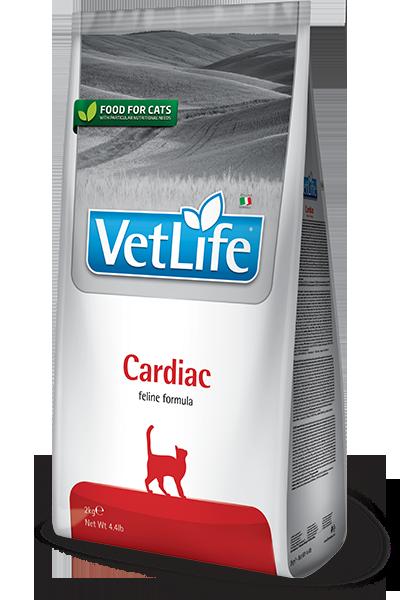 Vet Life Cardiaс, для поддержки работы сердца при сердечной недостаточности, уп.2 кг.