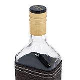 Бутылка «Магарыч. Роса», 500 мл, чехол коричневый, фото 2