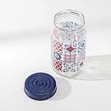 Банка для сыпучих продуктов Herevin «Мозаика», 1 л, фото 3