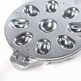 Форма для выпечки орешков Доляна, 9 ячеек, фото 4