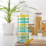 Бутыль для соусов и масла «Перелив», 600 мл, 6×6×26 см МИКС, фото 3