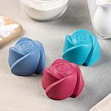 Набор форм для выпечки «Розочки», 6 шт, 7×4 см, цвет МИКС, фото 5