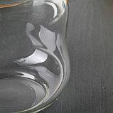 Банка для сыпучих продуктов «Эко.Изгиб», 700 мл, 10,5×11,5 см, фото 4