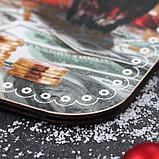 Доска разделочная с календарем «Монеты», фото 2