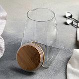 Банка для сыпучих продуктов «Эко.Трапеция», 10×15 см, фото 2