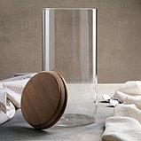 Банка для сыпучих продуктов «Эко», 2,5 л, 12×25 см, фото 2