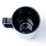 """Термокружка """"Мастер К"""", 450 мл, внутри пластик, хромированная, от прикуривателя, 12 × 17 см, фото 8"""