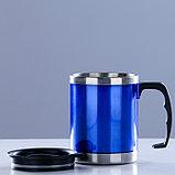 "Термокружка ""Таллер"", 450 мл, синяя, фото 3"