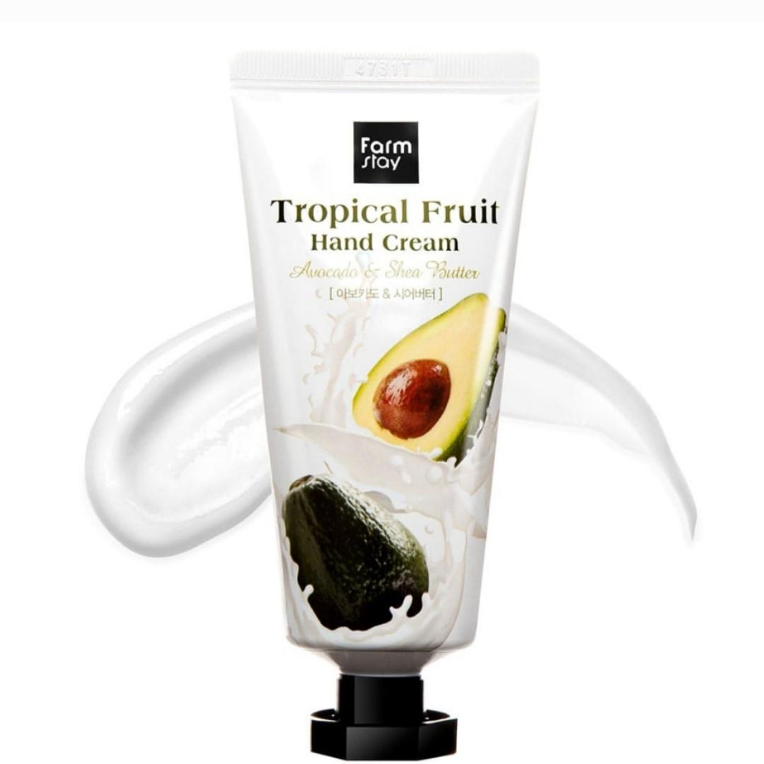 Крем для рук Farm Stay Tropical Fruit Hand Cream Avocado & Shea Butter 50ml.