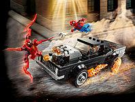 LEGO Super Heroes 76173 Человек-Паук и Призрачный Гонщик против Карнажа, конструктор ЛЕГО