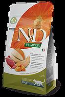 N&D утка, тыква, мускусная дыня, уп.1,5кг.