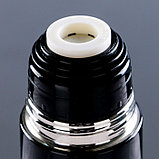 """Термос """"Патрон"""", 500 мл, сохраняет тепло 12 ч, чёрный, 7х25,5 см, фото 2"""