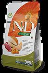 N&D утка, тыква, мускусная дыня, уп.5кг.