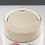"""Ланч-бокс """"Мишки"""", 1.4 л, сохраняет тепло 5 ч, с ложкой,+ шнурок,  микс, фото 2"""