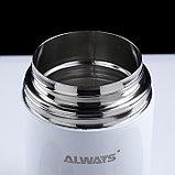 """Термос для еды """"Always"""", 800 мл, с ложкой, сохраняет тепло 12 ч, микс, 18х10.5 см, фото 3"""