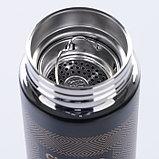 """Термос """"Классика стиля"""" 500 мл, с ситечком, сохраняет тепло 10 ч, черный, фото 3"""