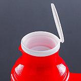 Термос питьевой с ручкой Day Days, 1 л, 2 кружки, микс, фото 2