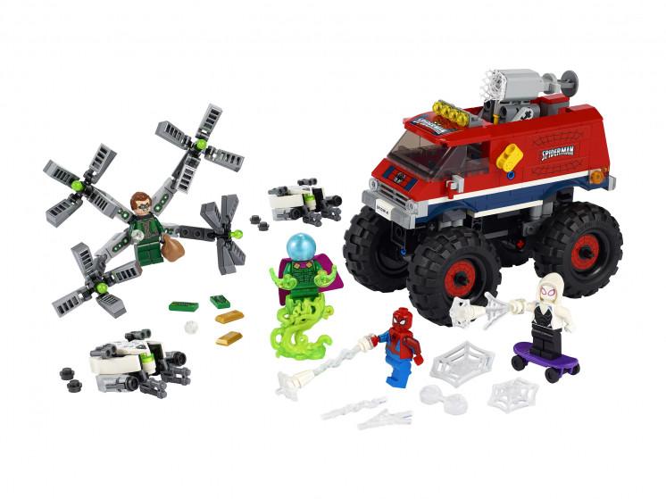 LEGO Super Heroes 76174 Монстр-трак Человека-Паука против Мистерио , конструктор ЛЕГО - фото 3
