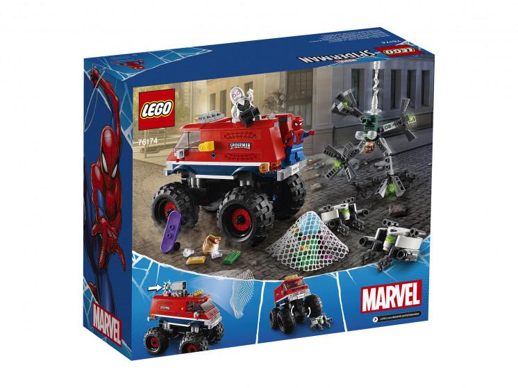 LEGO Super Heroes 76174 Монстр-трак Человека-Паука против Мистерио , конструктор ЛЕГО - фото 4