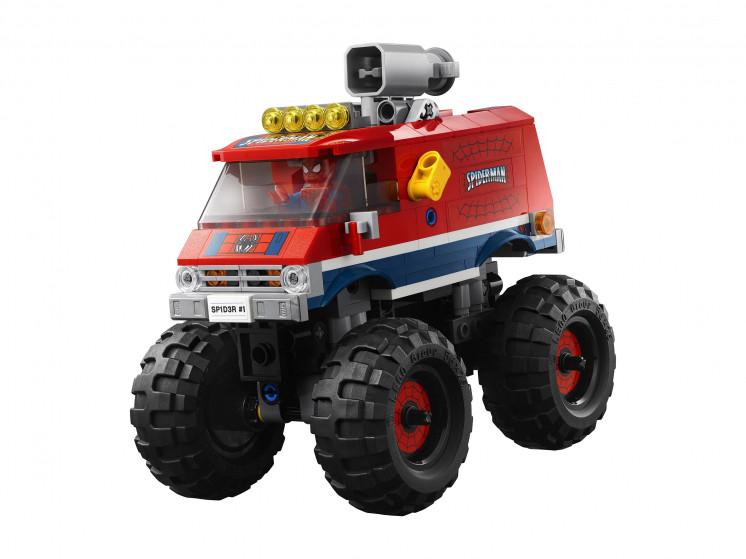 LEGO Super Heroes 76174 Монстр-трак Человека-Паука против Мистерио , конструктор ЛЕГО - фото 5