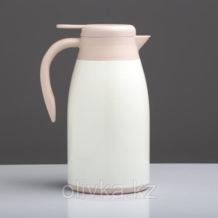 """Термос-кофейник """"Мальт"""" 2 л, сохраняет тепло 12 ч, белый"""