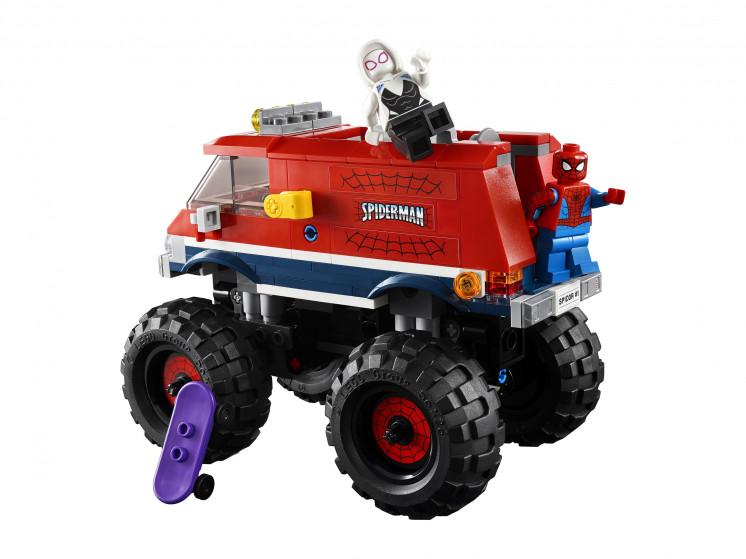 LEGO Super Heroes 76174 Монстр-трак Человека-Паука против Мистерио , конструктор ЛЕГО - фото 9