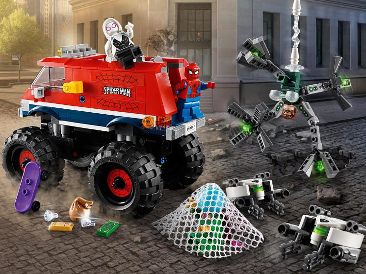LEGO Super Heroes 76174 Монстр-трак Человека-Паука против Мистерио , конструктор ЛЕГО - фото 10