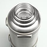 """Термос """"Мастер К"""" 3.2 л, сохраняет тепло 72 ч, серебристый, фото 3"""