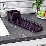 Сушилка для посуды, цвет МИКС, фото 3