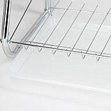 Сушилка для посуды Доляна «Стойка», В-образная, 40×23,5×34 см, фото 9