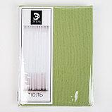 Тюль «Этель» 135×150 см, цвет светло-зеленый, вуаль, 100% п/э, фото 4