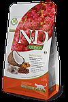 N&D сельдь, киноа, кокос, куркума, здоровье кожи и шерсти, уп.1,5кг.