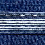 """Штора портьерная Этель""""Блеск""""цв.синий 140х250 см, фото 3"""