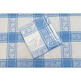 Скатерть, размер 160 х 180 см, цвет синий, жаккард, фото 2