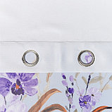 Штора портьерная Этель «Акварель» 250х250, цвет фиолетовый, фото 2