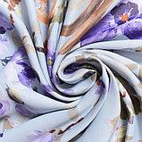 Штора портьерная Этель «Акварель» 250х250, цвет фиолетовый, фото 3