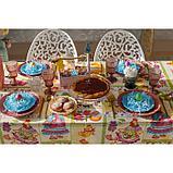 Скатерть Доляна «Светлая Пасха», 220 × 144 см, 100 % хлопок, рогожка, 164 г/м², фото 2