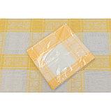 Скатерть, размер 160 × 250 см, цвет, жёлтый, жаккард, фото 2
