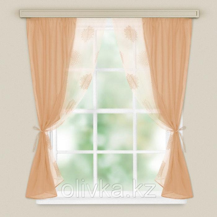 Комплект штор для кухни «Арина» 240х160