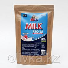 Протеин RusLabNutrition PRO 65 MILK (800г) (Улучшенная формула) клубника