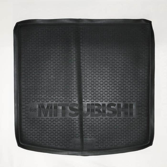 Коврик в багажник Mitsubishi Outlander (2012-2021) (с органайзером)