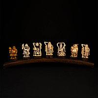 Семь богов счастья. Нэцкэ, слоновая кость