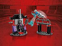 LEGO NINJAGO 71731 Легендарные битвы: Зейн против Ниндроида, конструктор ЛЕГО