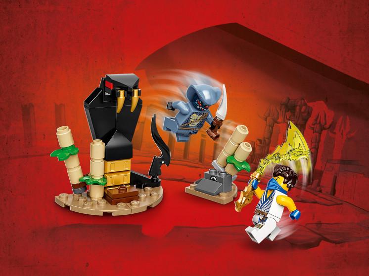 LEGO NINJAGO 71732 Легендарные битвы: Джей против воина-Серпентина, конструктор ЛЕГО - фото 1
