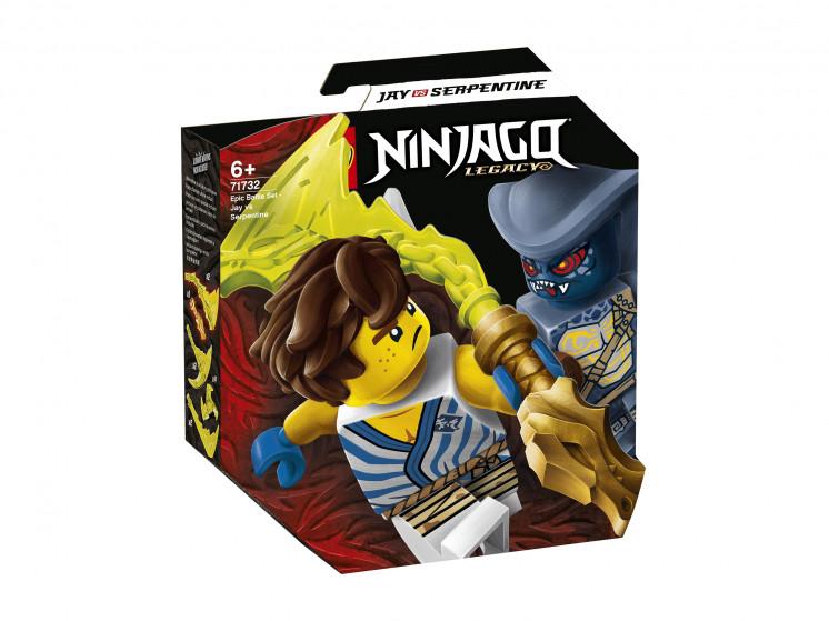 LEGO NINJAGO 71732 Легендарные битвы: Джей против воина-Серпентина, конструктор ЛЕГО - фото 2