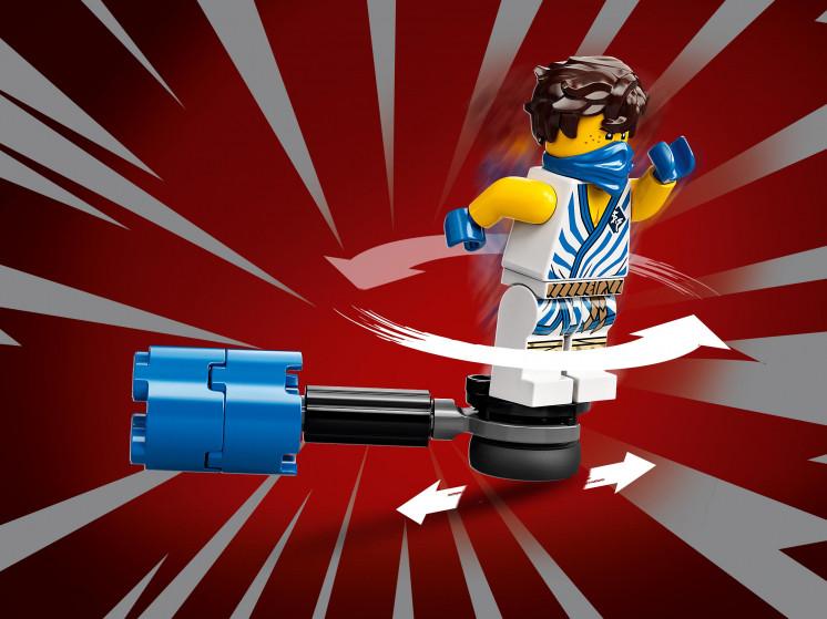 LEGO NINJAGO 71732 Легендарные битвы: Джей против воина-Серпентина, конструктор ЛЕГО - фото 10