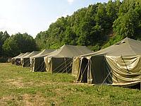 Палатка армейская Акция скидка 50% военная из материала Оксфорд до 15 чел.