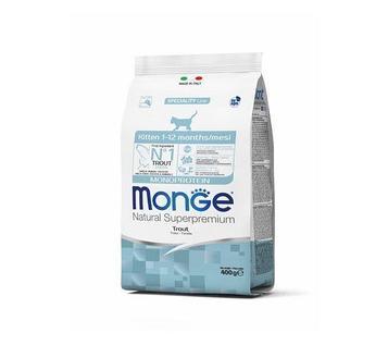 Monge Сухой корм для котят монопротеин, 400 гр