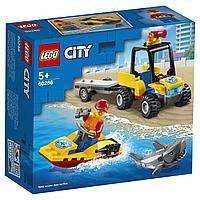 LEGO City Great Vehicles Пляжный спасательный вездеход